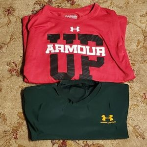 Under Armour Shirts & Tops - Bundle of Boys Under Armour Shirts Size XL